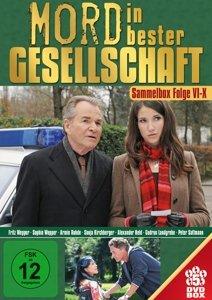 Mord in bester Gesellschaft Sammelbox: Folge 6-10 [5 DVDs]