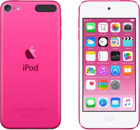 Vorschaubild von Apple iPod touch 6G 128GB pink