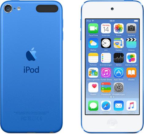 Vorschaubild von Apple iPod touch 6G 64GB blau