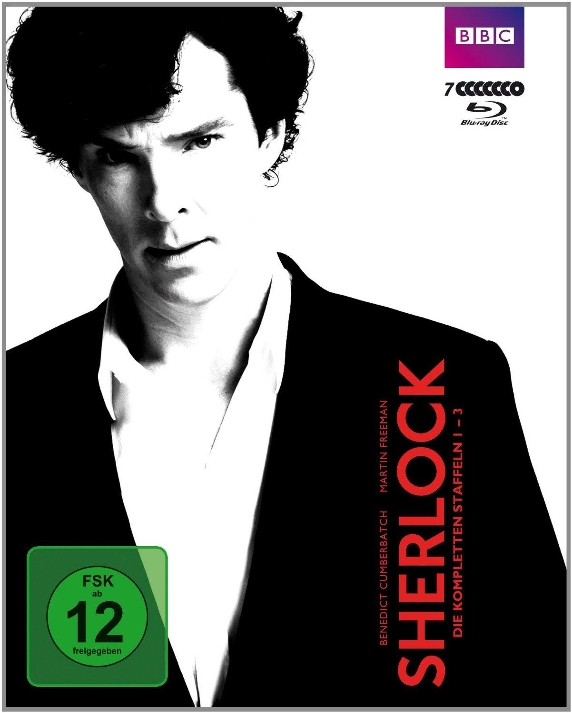 Sherlock - Staffel 1-3 [7 Discs]