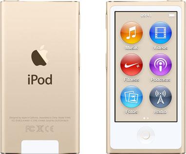 Vorschaubild von Apple iPod nano 7G 16GB gold [2015]
