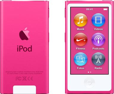 Vorschaubild von Apple iPod nano 7G 16GB pink [2015]