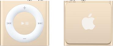 Apple iPod shuffle 4G 2GB gold [2015]