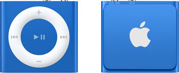 Apple iPod shuffle 4G 2GB blau [2015]