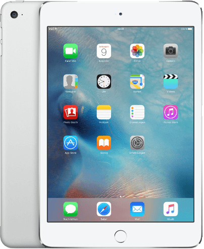 Apple iPad mini 4 7,9 128GB [Wi-Fi + Cellular] silber