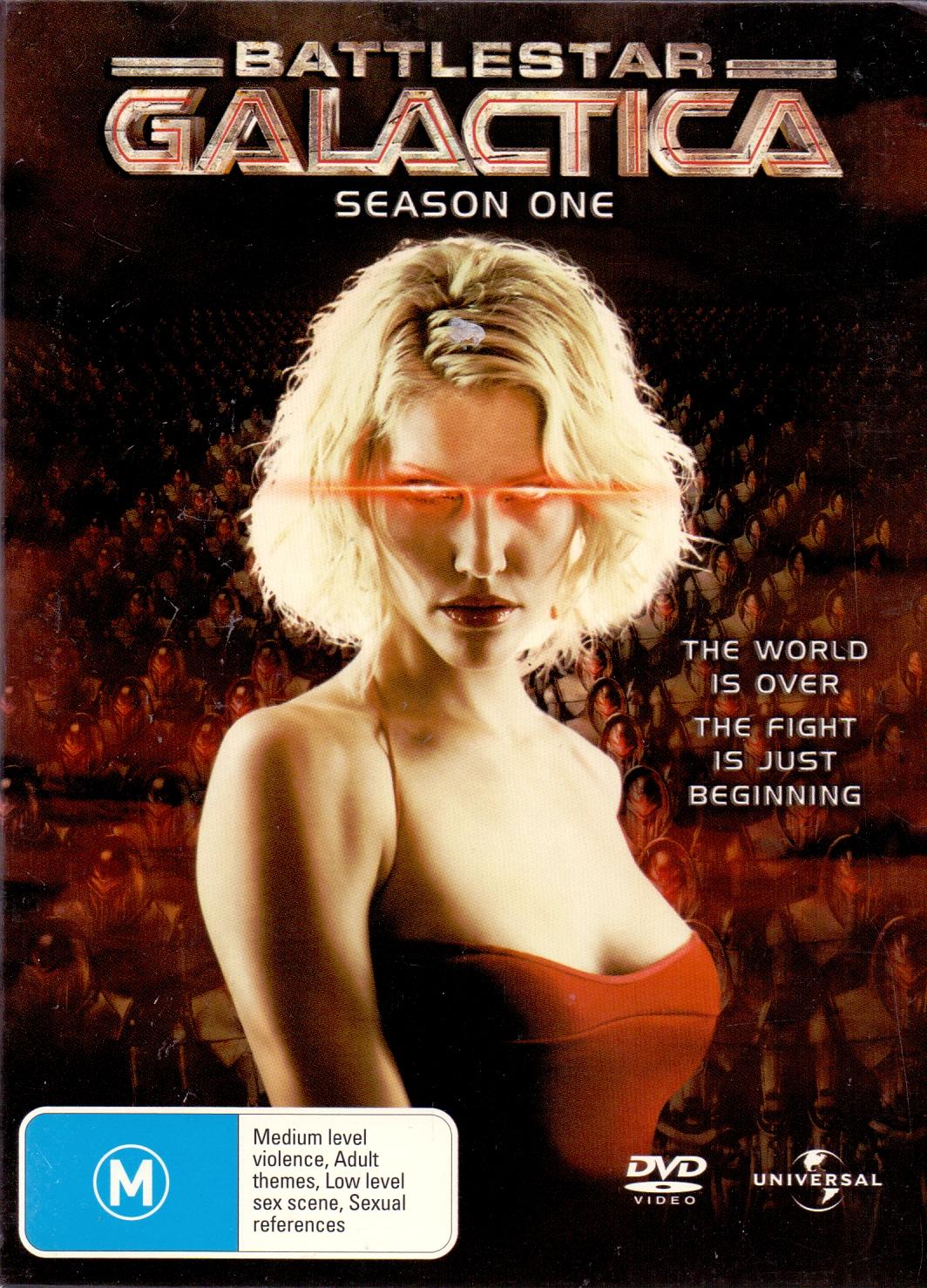 Battlestar Galactica: Season One [4 DVD, AU Import]