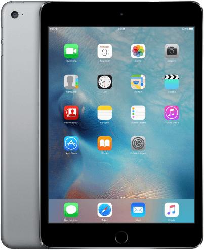 Apple iPad mini 4 7,9 64GB [Wi-Fi + Cellular] space grau