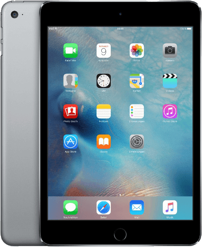 Apple iPad mini 4 7,9 128GB [Wi-Fi + Cellular] space grau