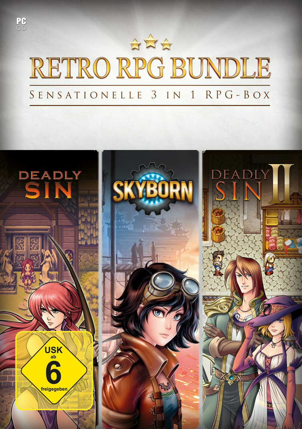 Retro RPG Bundle - 3 in 1 RPG Box (PC)