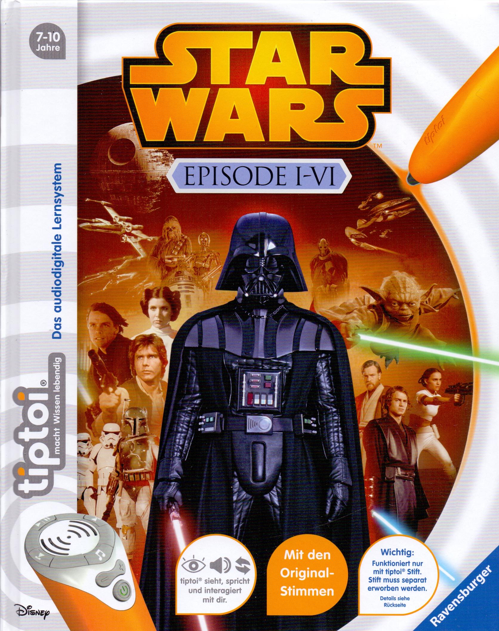 tiptoi® Star Wars: Episode I-VI [Gebundene Ausgabe]