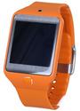 Samsung Gear 2 Neo 41,4 mm orange am Kautschukarmband wild orange