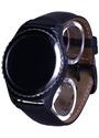 Samsung Gear S2 classic 30,2 mm schwarz am Lederarmband black [Wi-Fi]