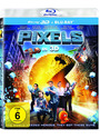 Pixels 3D [inkl. 2D Version, 2 Discs]