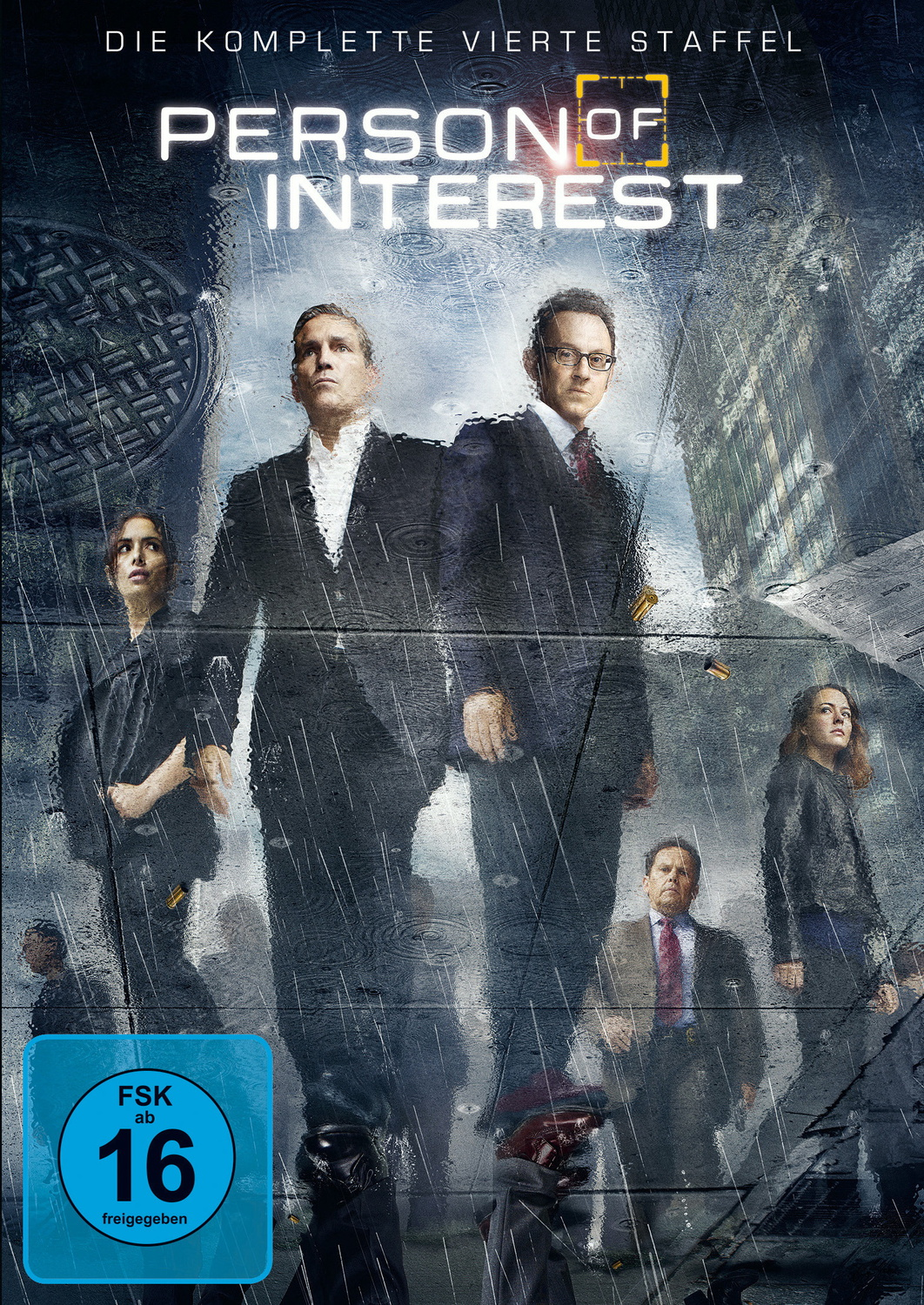 Person of Interest: Die komplette vierte Staffel [6 DVDs]