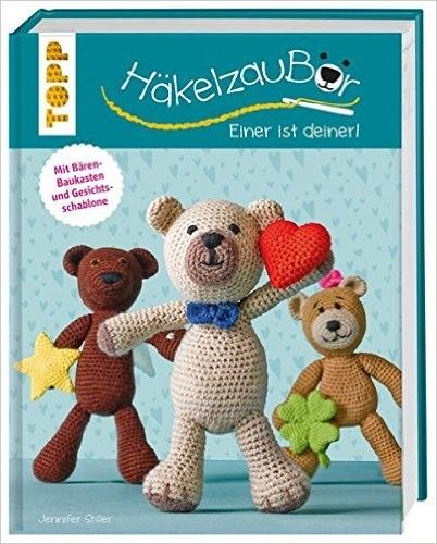HäkelzauBÄR - Einer ist deiner!: Mit Bärenbaukasten und Gesichtsschablone - Jennifer Stiller
