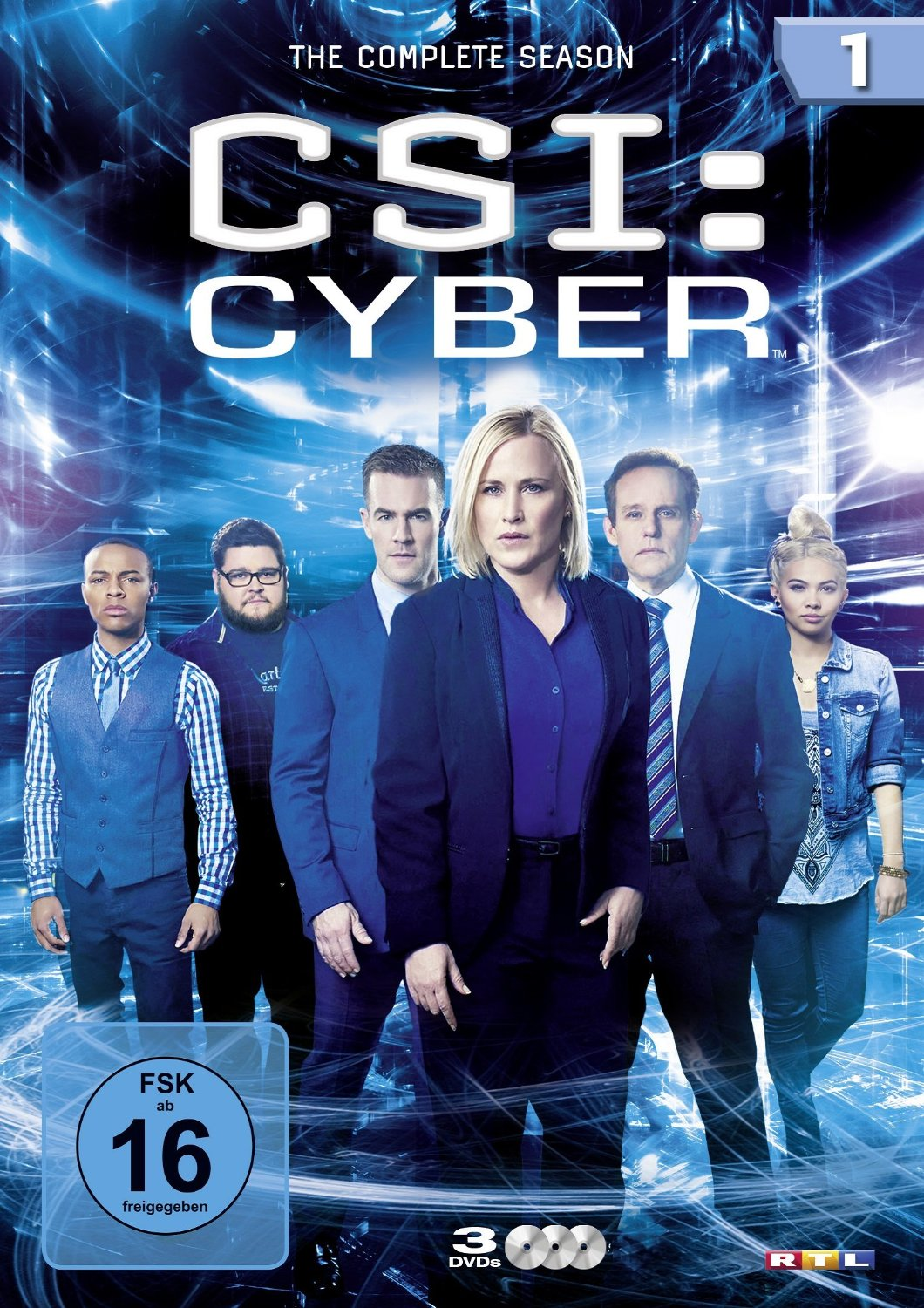 CSI: Cyber - Season 1 [3 DVDs]