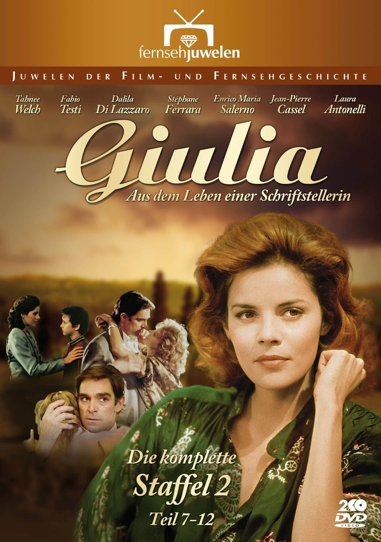 Giulia - Aus dem Leben einer Schriftstellerin: Staffel 2 [2 DVDs]