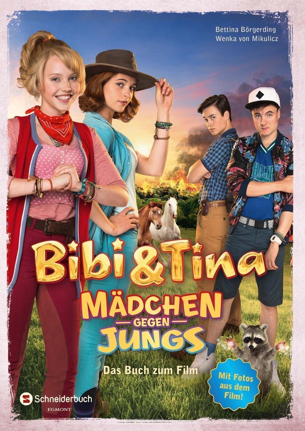 Bibi & Tina: Mädchen gegen Jungs - Das Buch zum Film - Bettina Börgerding, Wenka von Mikulicz