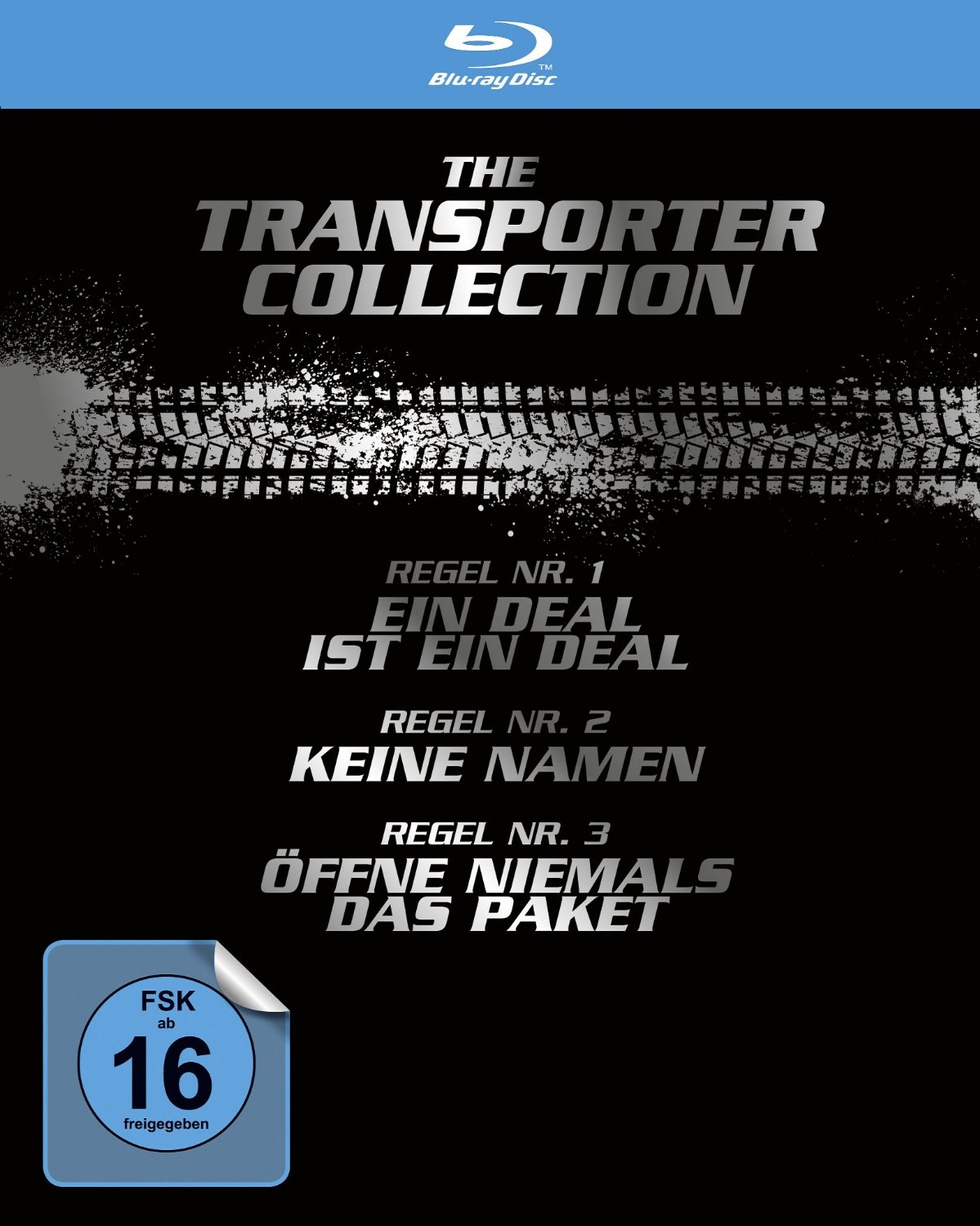 Transporter: 1 - 4 Collection [4 Discs]