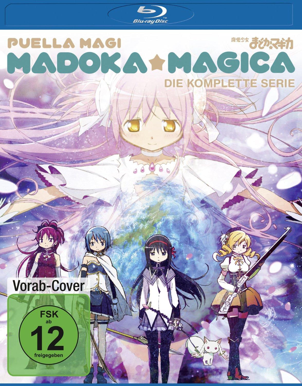 Madoka Magica - Komplettbox [2 Discs]
