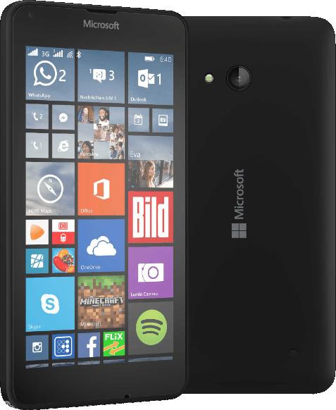 Microsoft Lumia 640 LTE 8GB schwarz