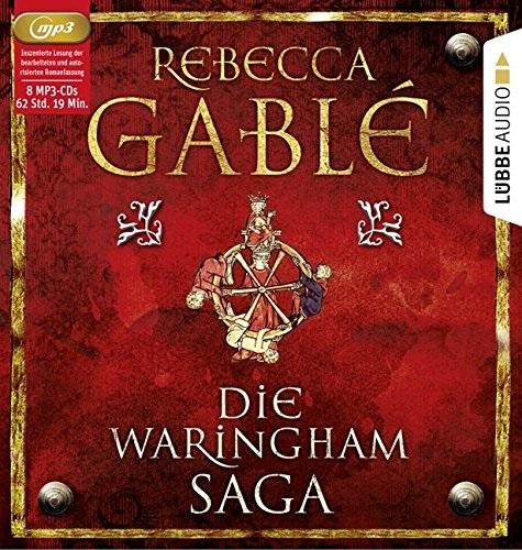 Die Waringham-Saga: Die ersten vier Bände der Waringham-Saga - Rebecca Gablé [8 mp3 CDs]