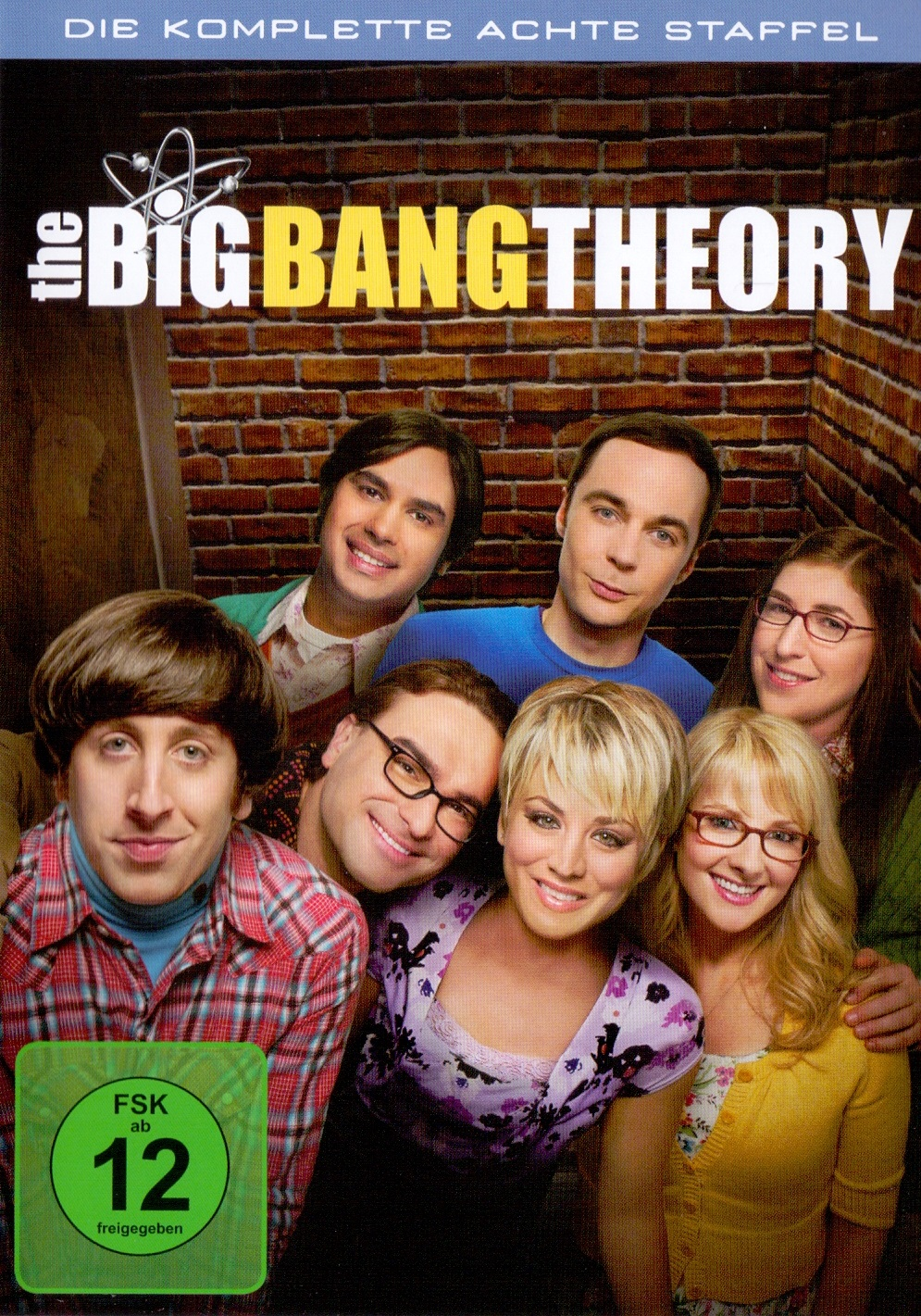 The Big Bang Theory - Die komplette achte Staffel [3 DVDs]