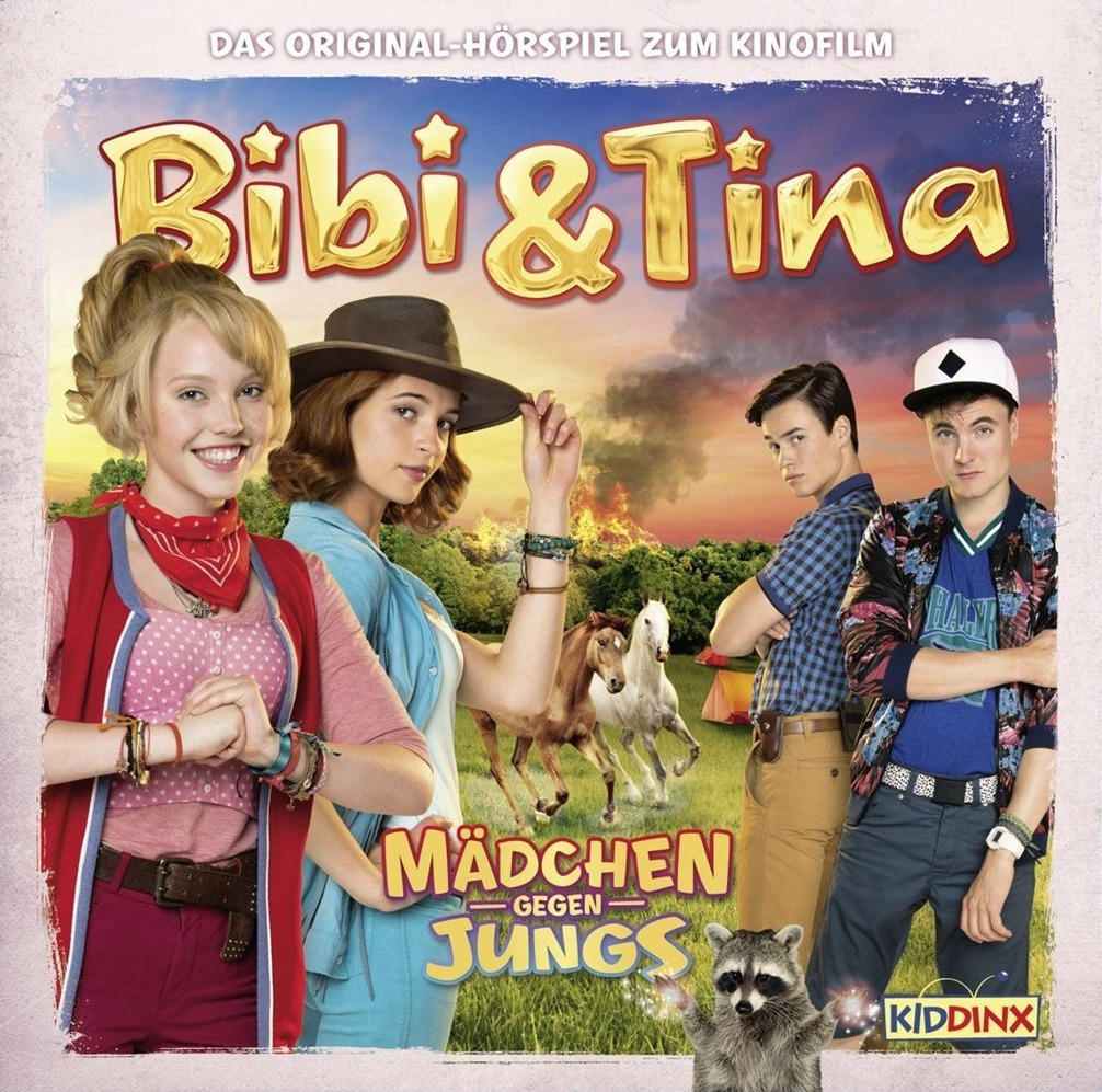 Bibi & Tina: Mädchen gegen Jungs - Das Original-Hörspiel zum Kinofilm