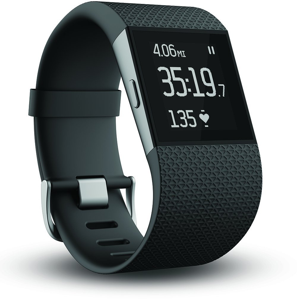 Fitbit Surge Large schwarz