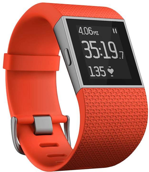 Fitbit Surge Small orangerot