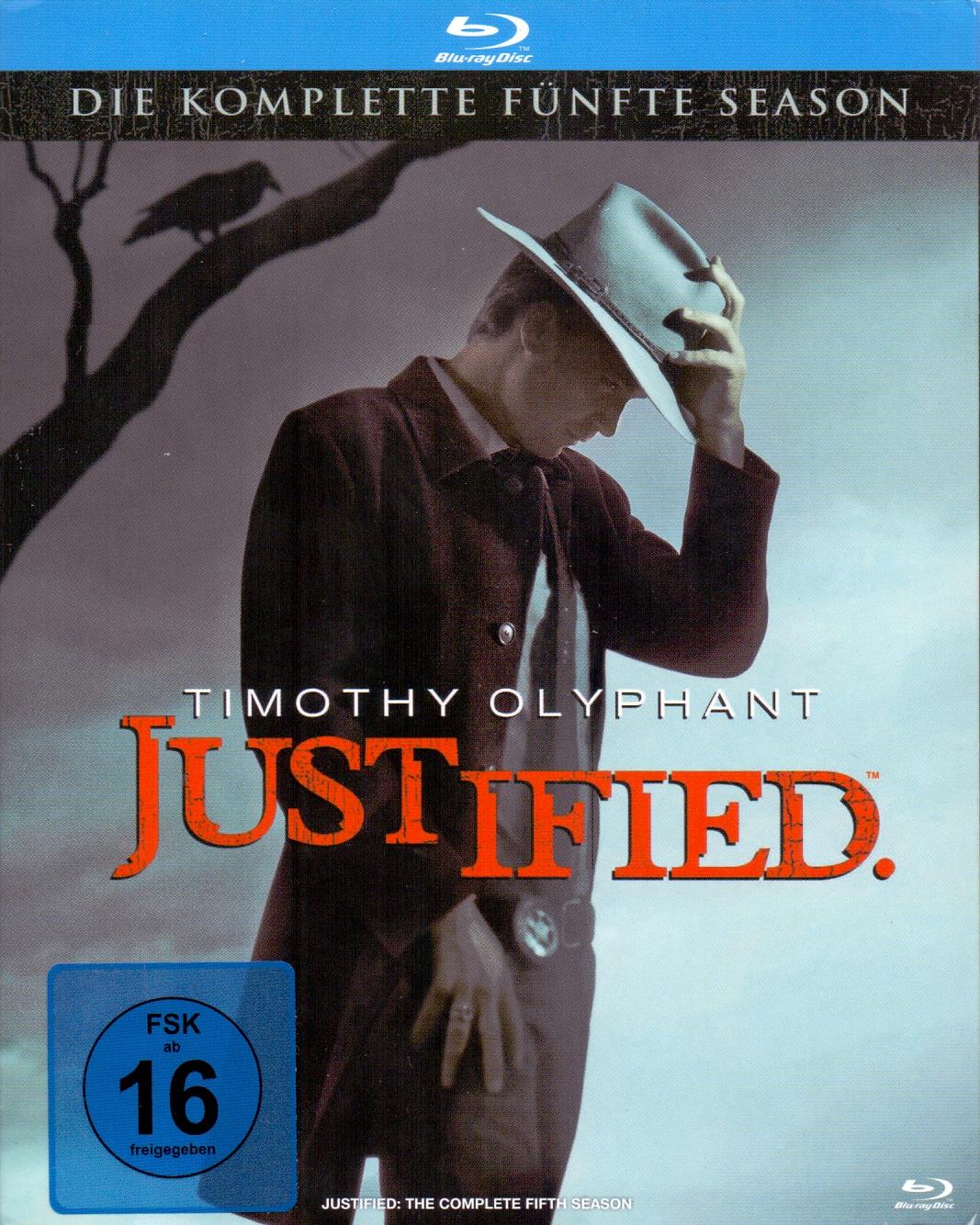 Justified: Die komplette fünfte Season [3 Discs]