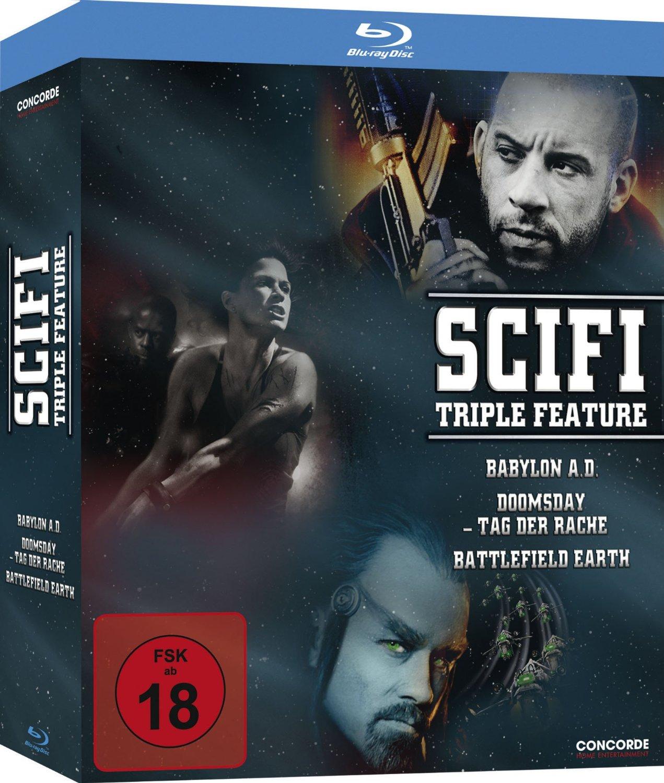 Scifi Triple Feature: Babylon A.D. + Doomsday /...