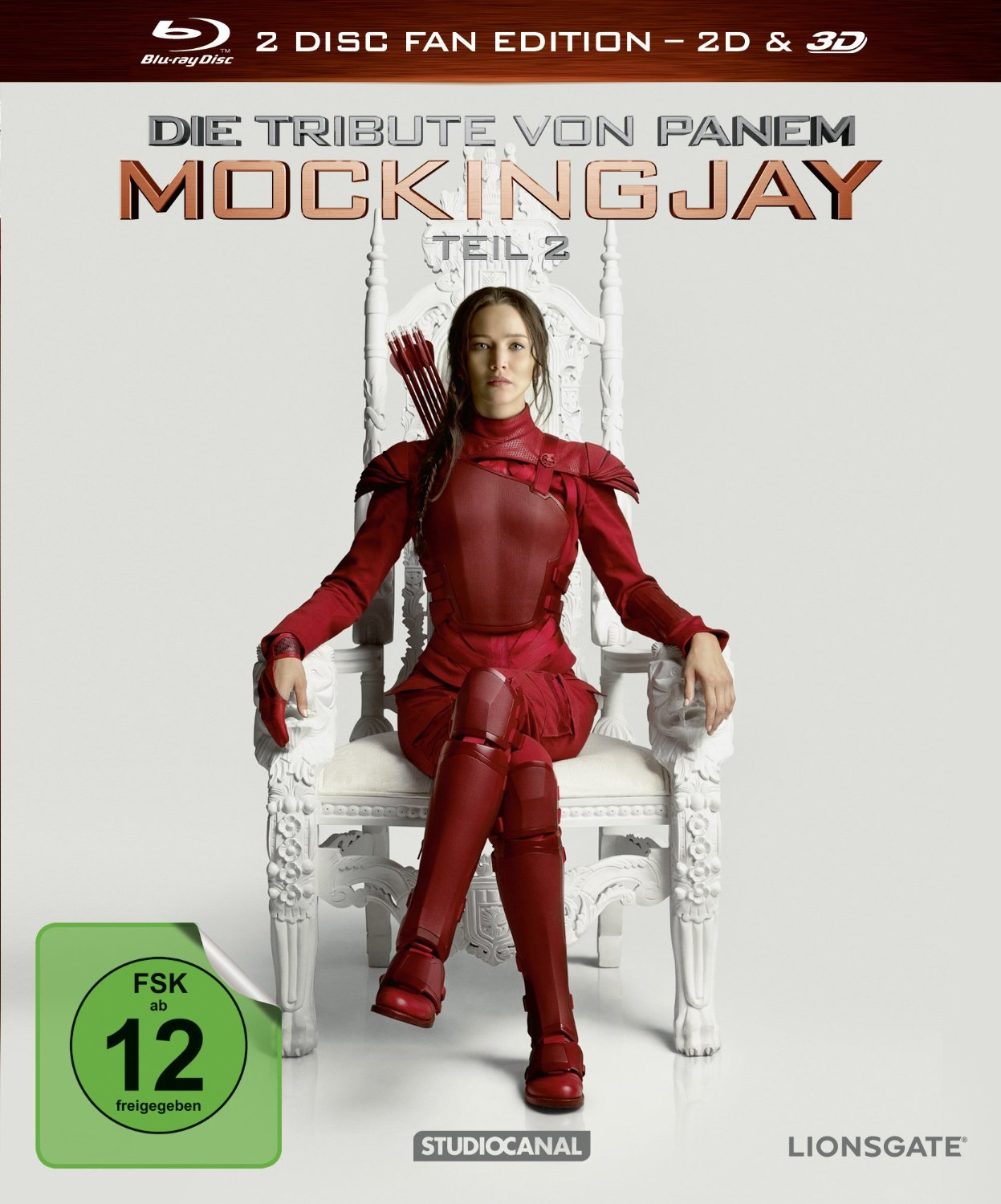 Die Tribute von Panem - Mockingjay: Teil 2 3D [Fan Edition, 2 Discs]