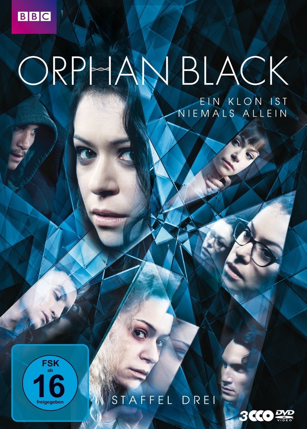 Orphan Black - Staffel 3 [3 DVDs]
