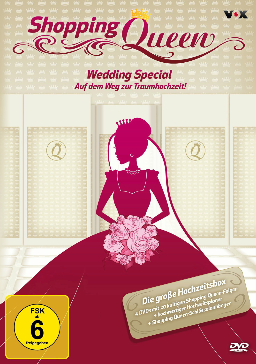 Shopping Queen - Wedding Special [4 Discs, + Buch]