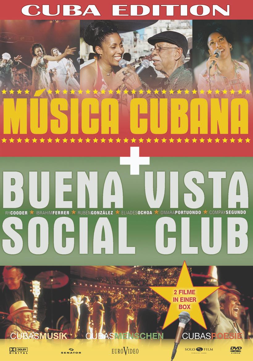 Cuba Edition: Música cubana - The Sons of Havana / Buena Vista Social Club [2 DVDs]