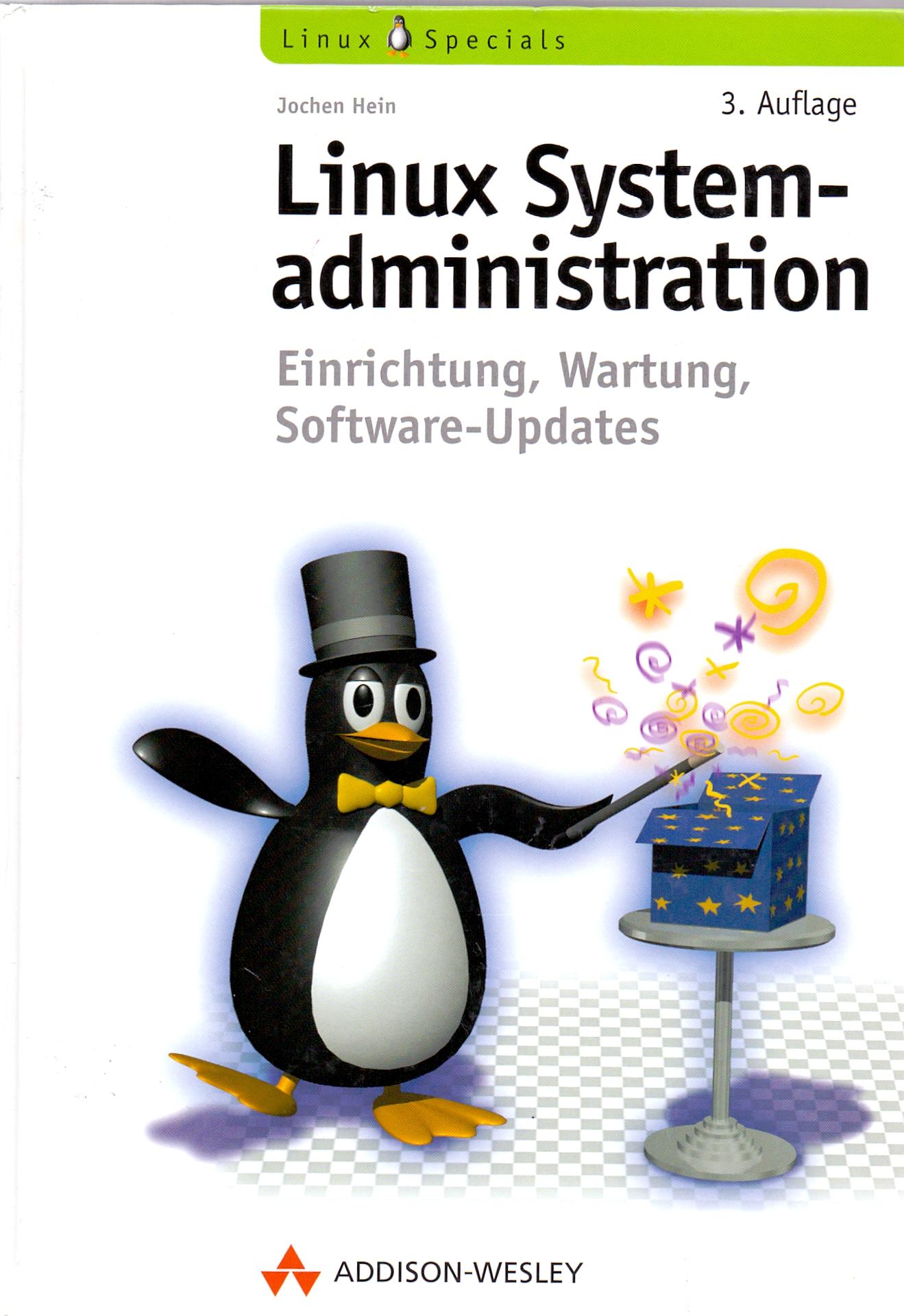 Linux System-administration - Einrichtung, Wart...