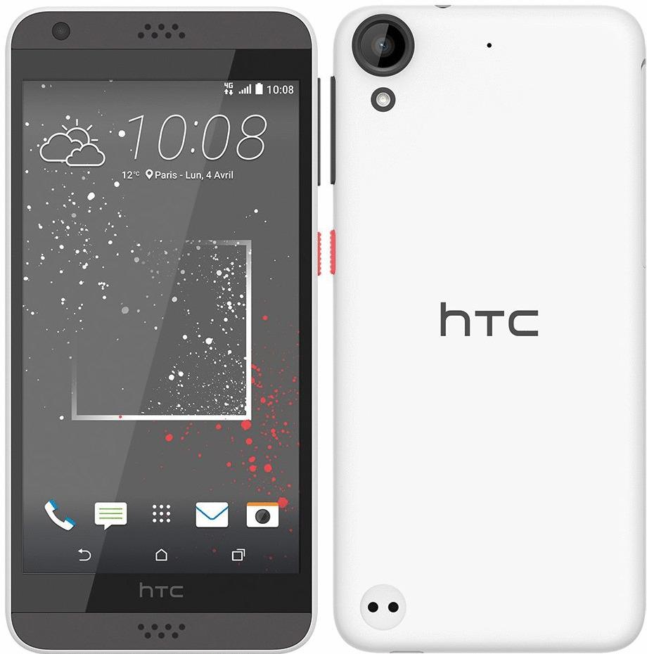 HTC Desire 530 16GB solid stratus white