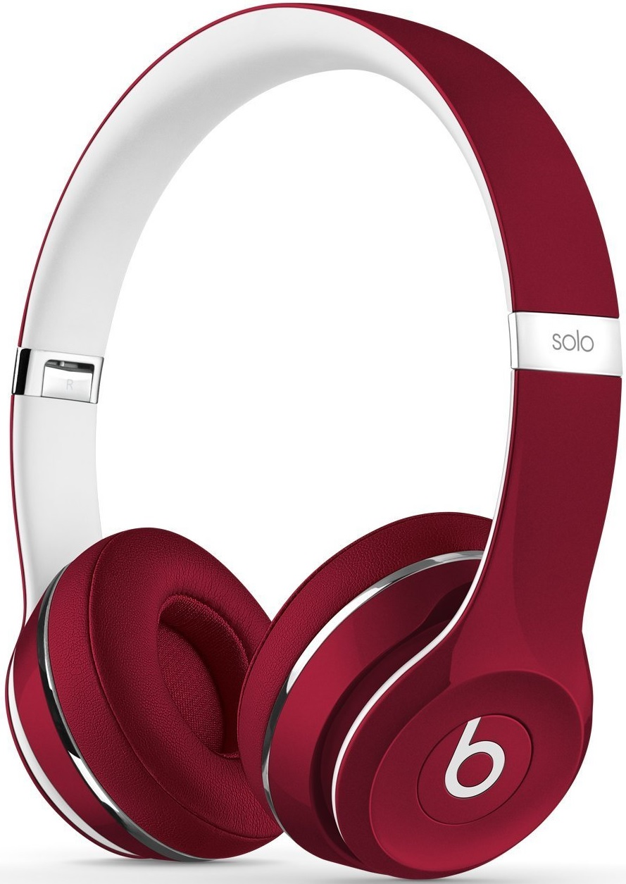 Beats by Dr. Dre Solo² Luxe Edition rot