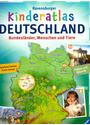 Kinderatlas Deutschland - Bundesländer, Menschen und Tiere - Andrea Schwendemann [Gebundene Ausgabe]