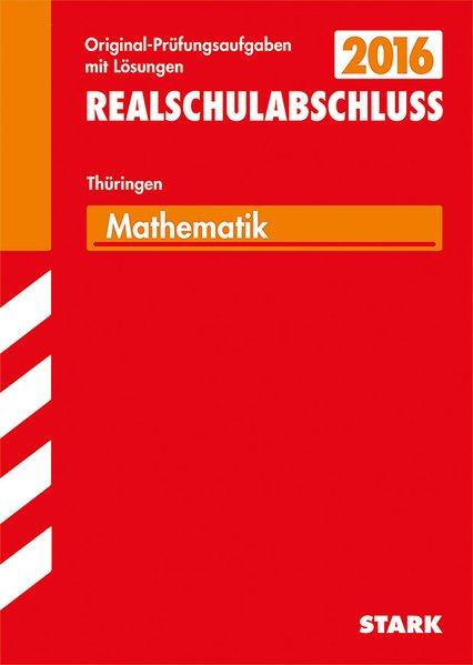 Abschlussprüfung Regelschule Thüringen - Mathem...
