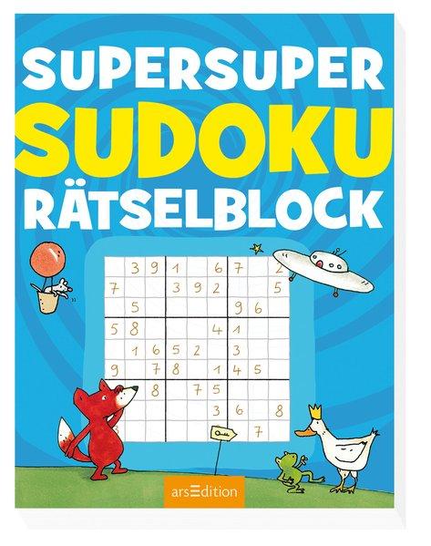 Super-Sudoku-Rätselblock - Philip Kiefer [Tasch...