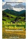 Heimatgeschichten: Schicksalsnacht in den Bergen - Rosemarie Forstmaier [2. Gebundene Ausgabe 2005]