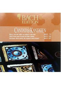 Bach Edition: Cantatas / Kantaten - BWV 73, 125 & 157 [Import]