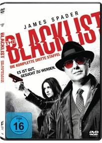 The Blacklist - Die komplette dritte Staffel [6 Discs]