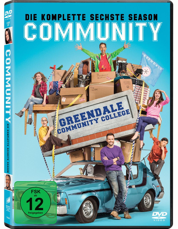 Community - Die komplette sechste Season [2 Discs]