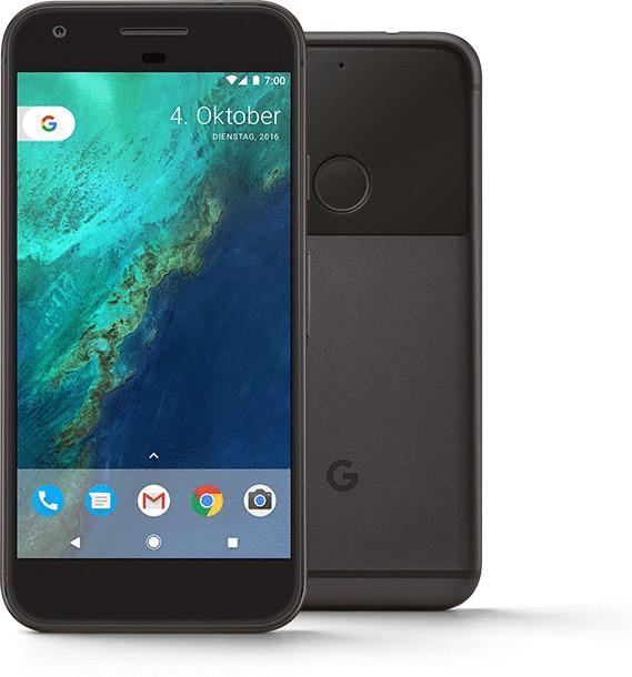 Google Pixel 128GB anthrazit