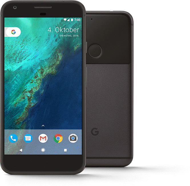 Google Pixel XL 128GB anthrazit