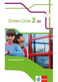 Green Line2: Vokabelheft Englisch G9 - 6. Klasse Gymnasium - Harald Weisshaar [1. Auflage 2015, Broschiert]
