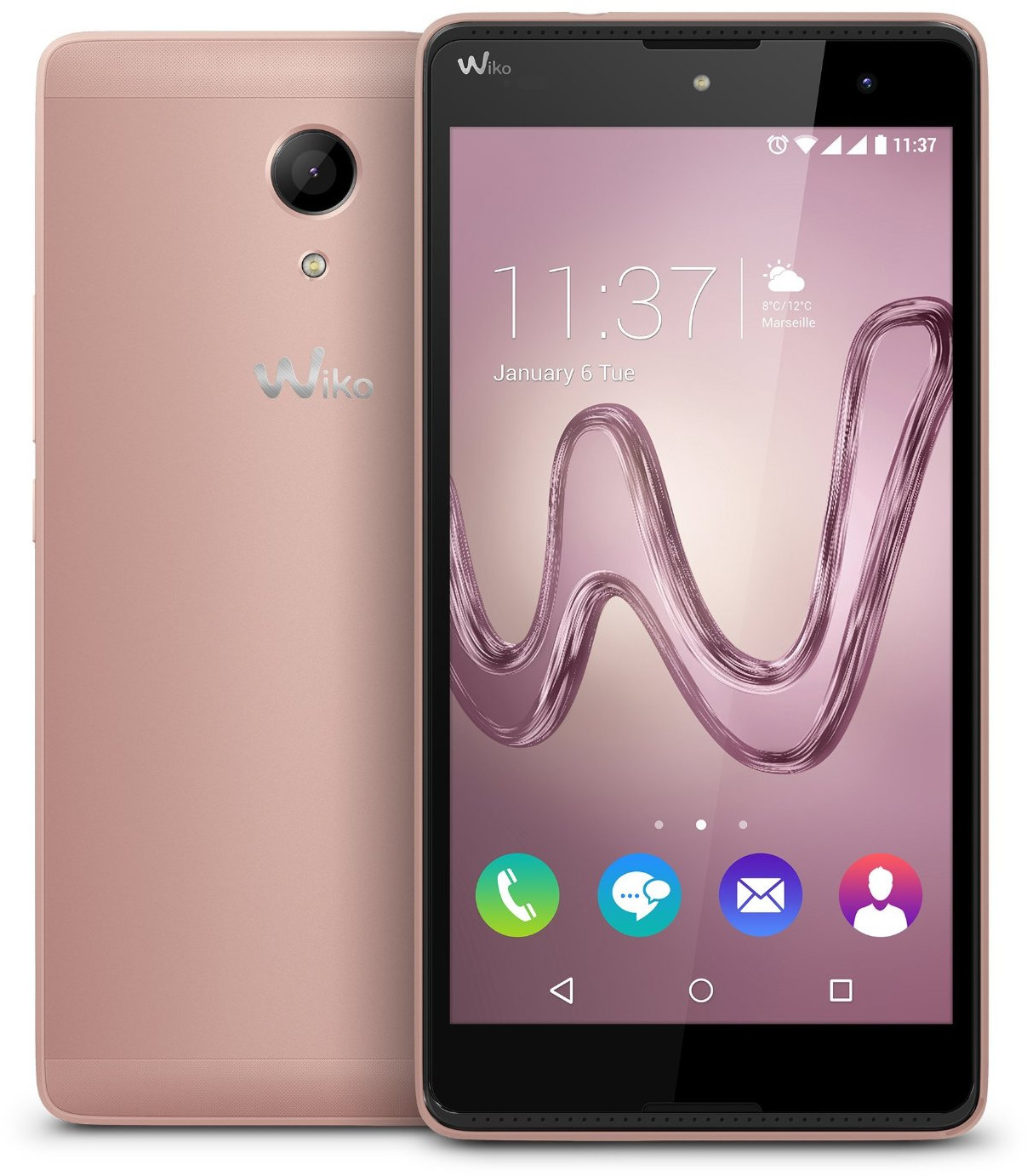 Wiko Robby 16GB rose gold